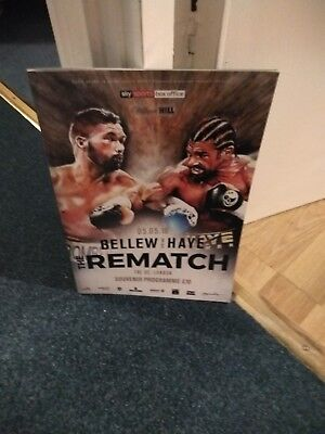 Bellew V Haye 2 Official Programme