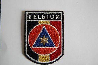 insignes protection civile belge