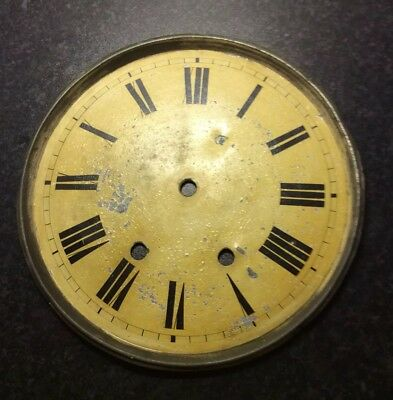Vintage Wall Clock Dial And Outer Ring