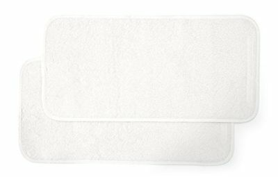 Mamas & Papas Luxury Super Soft Nappy Changing Mattress Liners - White Pack