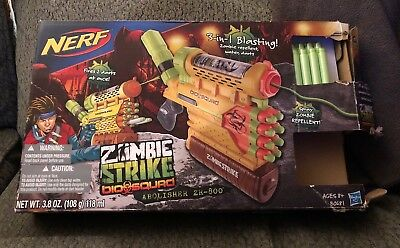 Nerf Zombie Strike Biosquad Zombie Repellent Can Bälle