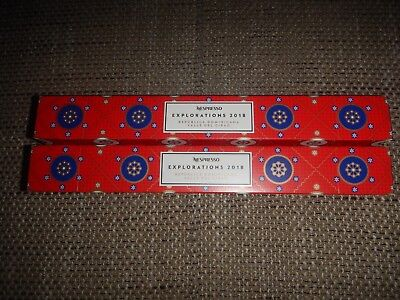 Nespresso 2 Stangen REPÚBLICA DOMINICANA 20 Kapseln Limited EXPLORATIONS Edition