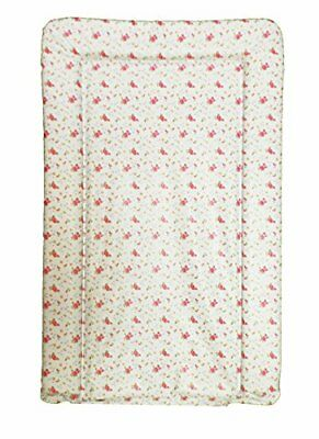 Deluxe PVC Change/Changing Mat - VINTAGE CREAM/PINK ROSES DESIGN