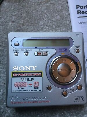 Sony Walkman MZ-R700 Personal MiniDisc Player