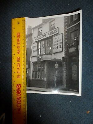 hotel pub photograph monson arms home brew public house by jones of hereford