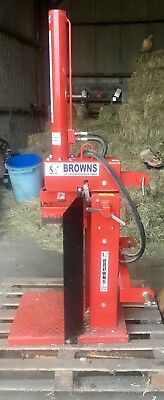 Browns Tractor Mounted 10 Tonne Hydraulic  Log Splitter.