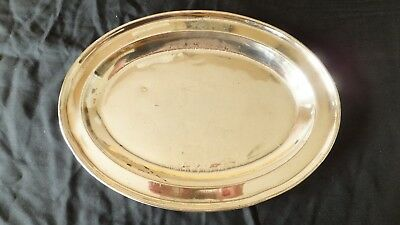The Holborn Restaurant - silver platter/tray-very rare piece of London's history