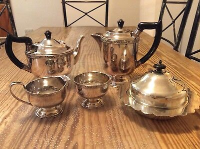 Antique / Vintage Silver plated Tea Service-Celtic Style-Viners of Sheffield +1