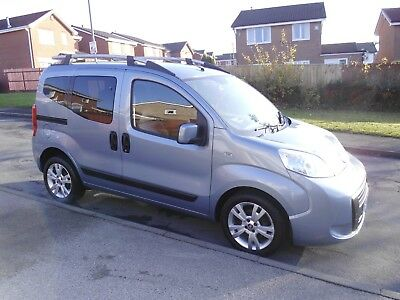 2011/60 Fiat Qubo Up Front Passenger & Driver Transfer Wheelchair Access 3SEATS