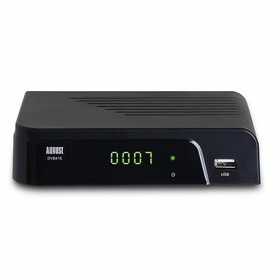 August DVB415 HD Freeview Set Receiver