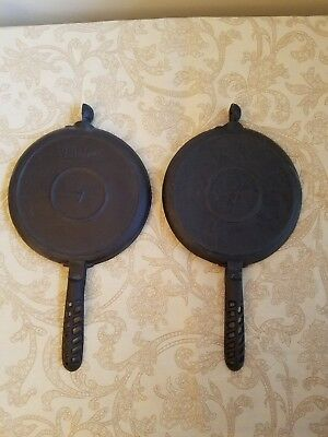 Lodge Cast Iron 7 Arc Waffle Iron Paddles