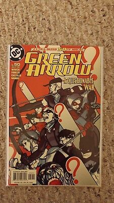 Green Arrow Vol 3. #50. NM. 9.4 or better. Batman and Deathstroke Appearences.