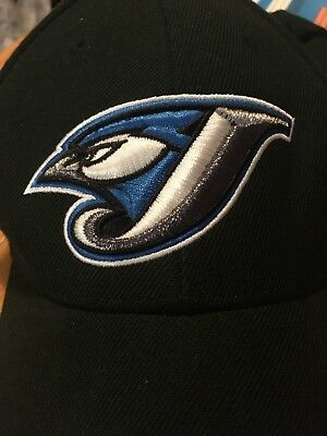 Toronto Bluejays Baseball Cap Hat Nike MLB Black Men's