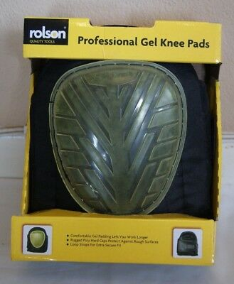 NEW! Rolson Quality Tools Professional Gel Knee Pads 82711