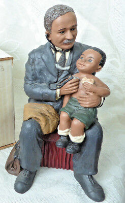 Dr. Daniel Williams, All God's Children 1903 #124 Figurine, Martha Holcombe NIB