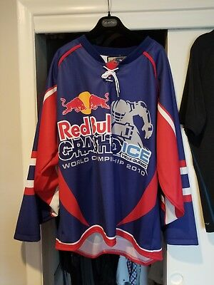Red Bull Crashed Ice - Quebec City Hockey Jersey size L - Rare - Brand NEW 51a490147eb