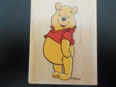 Crafters wooden stamp Winnie the Pooh