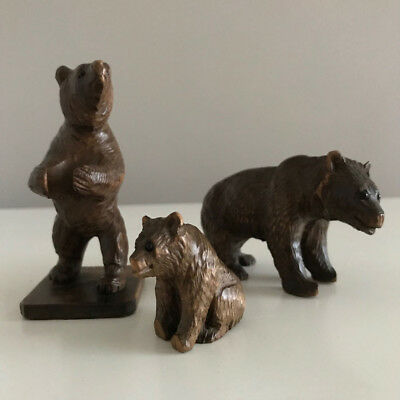 Antique Vintage Black Forest Bears