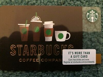 Starbucks Gift Card $25 Value Free Shipping!