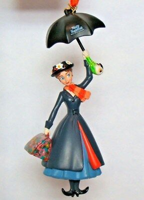 MARY POPPINS 50th Anniversary Disney Store Sketchbook Christmas Ornament 2014