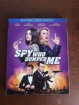 The Spy Who Dumped Me (Blu-ray/DVD, 2018, 2-Disc Set, Includes Digital Copy)