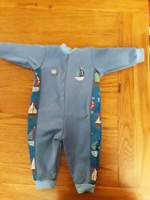 "splash about warm in one ""set Sail"" 6-12 Months large Baby Swimimg"