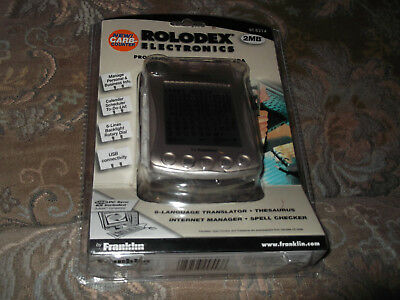 Rolodex Electronics 2 MB Touch Screen PDA File Organizer RT-8214