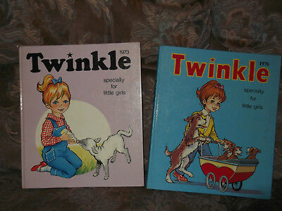 2 Twinkle Annuals  For Girls - 1973 And 1976
