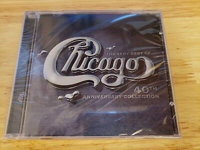 The Very Best of Chicago 40th Anniversary Collection CD Brand New