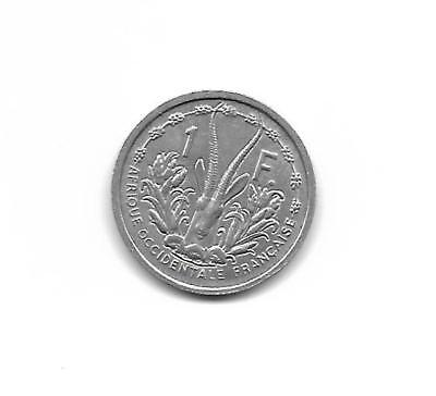 French West Africa  1 Franc 1955