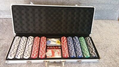 Triumph 500-Piece Poker Set with Aluminum Carrying Case