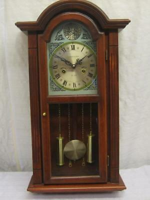 Large Striking Wall Clock Runs 1 Month per Winding. 0011-CC-W02