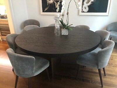 Dining Table Restoration Hardware Channel Round