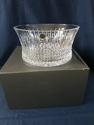 New Boxed Waterford Crystal Lismore Diamond Centrepiece Bowl Large Heavy