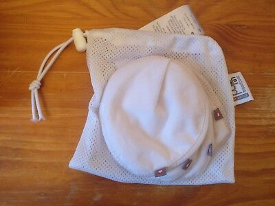 Reusable Breast Pads, Close Pop In, Used Once, With Mesh Bag