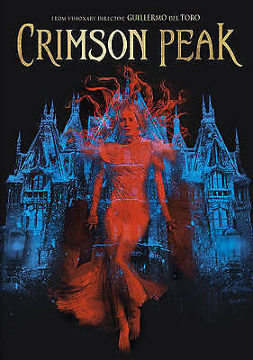 Crimson Peak (DVD, 2016) GUILLERMO DEL TORO BIN LOW PRICE