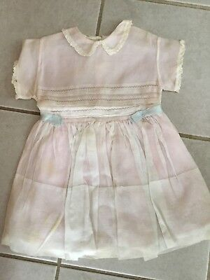 Vintage 1960's Toddler Organdy Party Dress