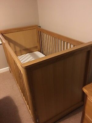 Marks And Spencers Solid Oak Cot