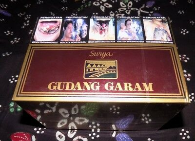 10 packs Gudang Garam Surya 16 sealed and collectible --8 /10/Days/Delivery--
