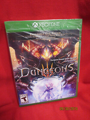 Dungeons III (Microsoft Xbox One, 2017)BRAND NEW FACTORY SEALED