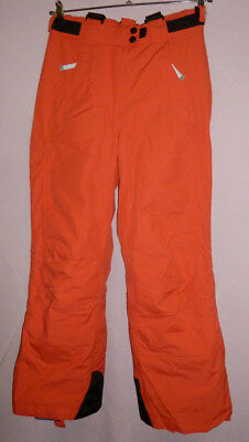 EXXTASY * Skihose Gr.38 rot koralle 10000mm * abnehmbare Träger * Top-Zustand