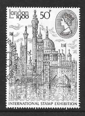Gb 1980 London 1980 International Stamp Exhibition Stamp Fine Used
