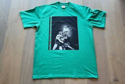 f5c4be95cef4 Supreme Horror Chainsaw Green FW17 Tee DS New Size Medium Rocks Bombay  Smile Lot