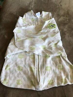 Halo Fleece Sleep Sack Swaddle Size Small 0-6 Months - Mint Condition