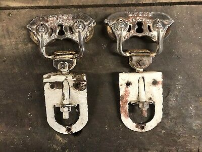 Antique Myers SURE GRIP Dual Patented Barn Door Rollers