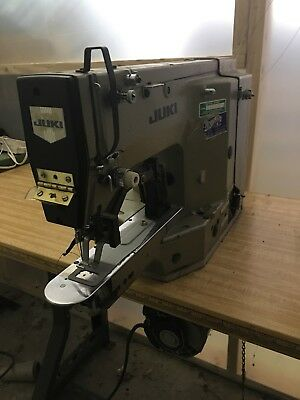 Juki LK 1852 Bar Tacker  Industrial Sewing Machine.  runs great!