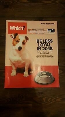 Which Consumer Magazine - January 2018 Which?