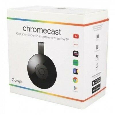 Google Chromecast (2nd Generation) HD Media Streamer - Black (Canada)