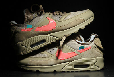 NIKE AIR MAX 90 Off White Desert Ore EU 44 US 10 UK 9 EUR