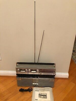 SHARP GF-555 Stereo Boombox Ghettobalster Awesome!